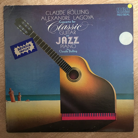 Claude Bolling - Concerto For Classic And Jazz Piano  - Vinyl LP - Opened  - Very-Good+ Quality (VG+)
