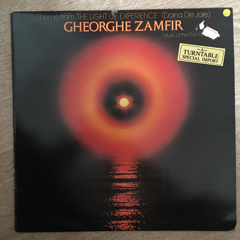 Gheorghe Zamfir ‎– Theme From The Light Of Experience (Diona De Jale) - Vinyl LP Record - Opened  - Very-Good+ Quality (VG+)