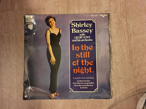 Shirley Bassey With Geoff Love & His Orchestra ‎– In The Still Of The Night   - Vinyl LP - Opened  - Very-Good+ Quality (VG+) - C-Plan Audio