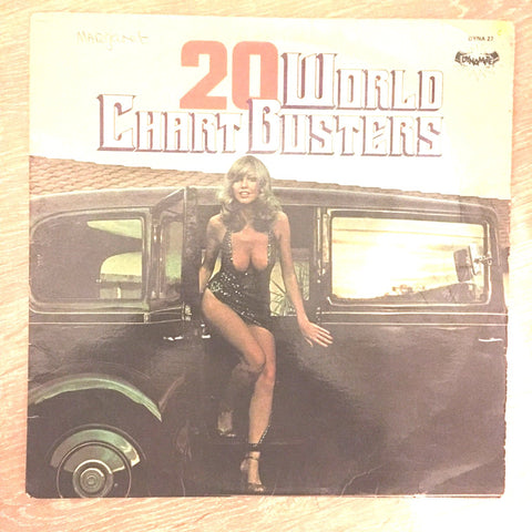 20 World Chartbusters - Vinyl LP Record - Opened  - Good Quality (G)