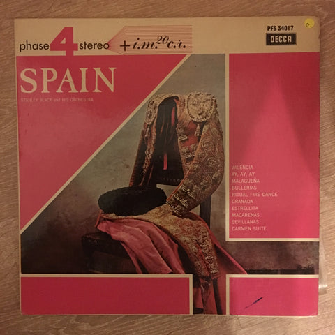 Stanley Black and His Orchestra - Spain -  Vinyl LP Record - Opened  - Good Quality (G)