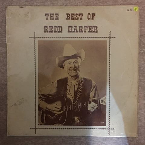 Redd Harper - The Best OF Redd Harper - Vinyl LP Record - Opened  - Very-Good- Quality (VG-)