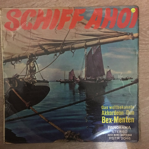Schiff Ahoi - Bex Menten – Vinyl LP Record - Opened  - Good+ Quality (G+)
