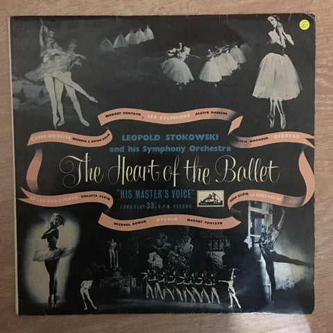 Leopold Stokowski - The Heart Of The Ballet - Vinyl LP Record - Opened  - Very-Good- Quality (VG-)