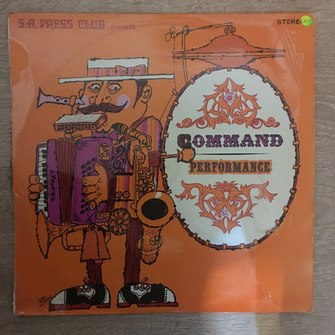 SA Press Club Presents - Command Performance Festival '69 - Vinyl LP Record - Opened  - Very-Good+ Quality (VG+) - C-Plan Audio