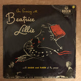 Beatrice Lillie ‎– An Evening With Beatrice Lillie -  Vinyl LP Record - Opened  - Fair/Good Quality (F/G)