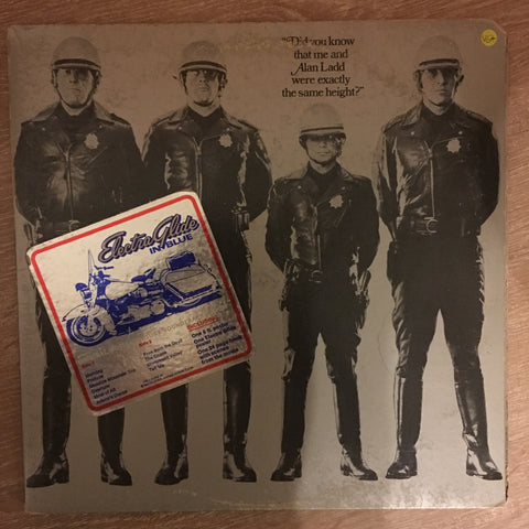 James William Guercio ‎– Electra Glide In Blue (Original Motion Picture Soundtrack) - Vinyl  Record - Opened  - Very-Good+ Quality (VG+)