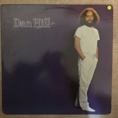 Dan Hill - Frozen In The Night - Vinyl LP - Opened  - Very-Good+ Quality (VG+) - C-Plan Audio