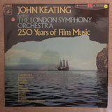 John Keating Conducts The London Symphony Orchestra ‎– 250 Years Of Film Music - Vinyl LP - Opened  - Very-Good+ Quality (VG+) - C-Plan Audio