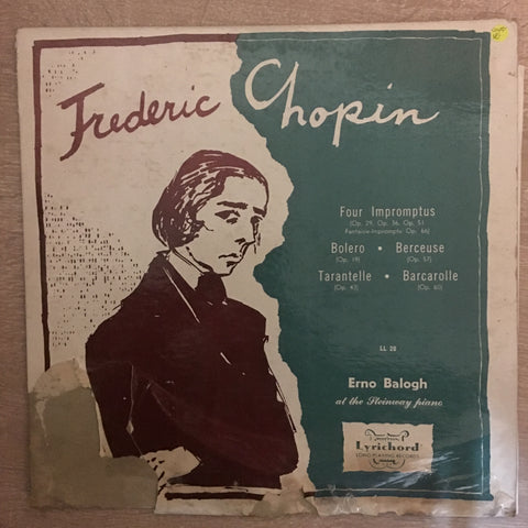 Frederic Chopin - Four Impromptus - Erno Balogh - Vinyl LP Record - Opened  - Very-Good Quality (VG)