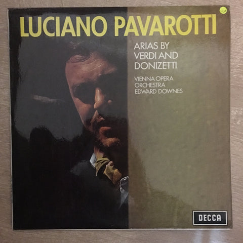 Luciano Pavarotti ‎– Verdi & Donizetti Arias - Vinyl LP - Opened  - Very-Good+ Quality (VG+)