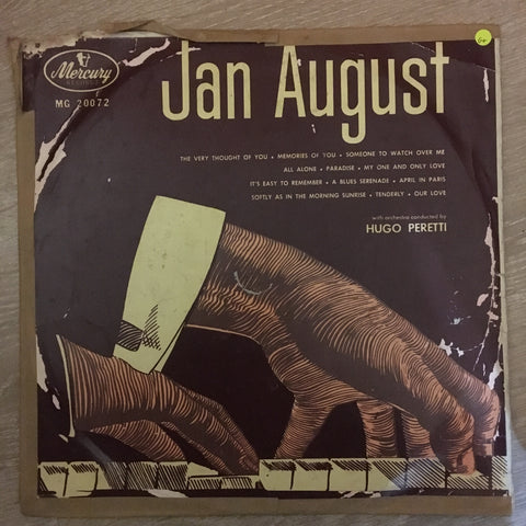 Jan August  – Vinyl LP Record - Opened  - Good+ Quality (G+)
