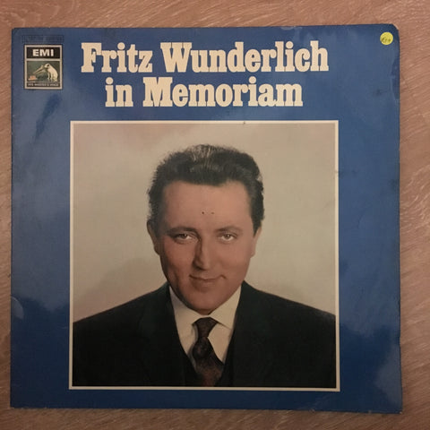 Fritz Wunderlich - in Memoriam - Vinyl LP - Opened  - Very-Good+ Quality (VG+)