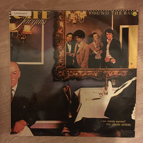 Café Jacques ‎– Round The Back - Vinyl  Record - Opened  - Very-Good+ Quality (VG+)