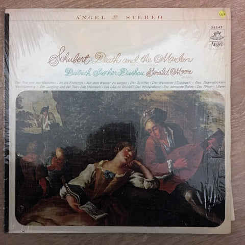 Franz Schubert - Dietrich Fischer-Dieskau ‎– Death And The Maiden & Other Songs - Vinyl LP - Opened  - Very-Good+ Quality (VG+)