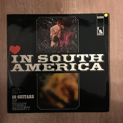 50 Guitars Of Tommy Garrett - In South America - Vinyl LP Record  - Opened  - Very-Good+ Quality (VG+)