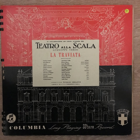 Verdi - La Traviata - Double Vinyl LP Set - Opened  - Very-Good+ Quality (VG+)