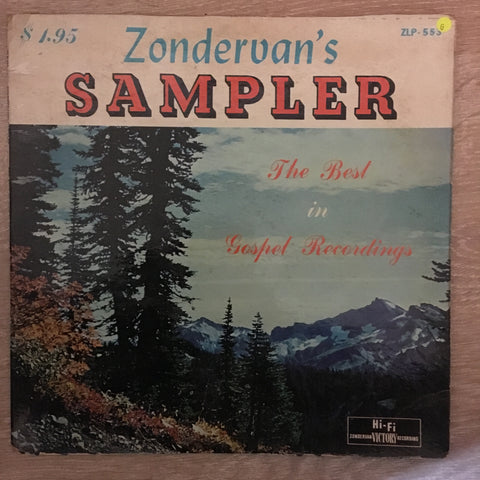 Zondervan's Sampler - Vinyl LP Record - Opened  - Fair Quality (F)