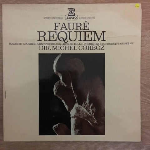 Fauré - Michel Corboz ‎– Requiem - Vinyl LP- Opened  - Very-Good+ Quality (VG+)
