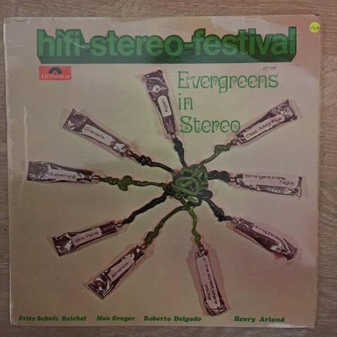 Evergreens In Stereo - Vinyl LP- Opened  - Very-Good+ Quality (VG+) - C-Plan Audio