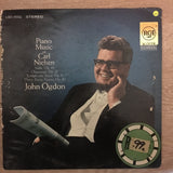 John Ogdon ‎– Piano Music of Carl Neilsen - Vinyl LP- Opened  - Very-Good+ Quality (VG+) - C-Plan Audio