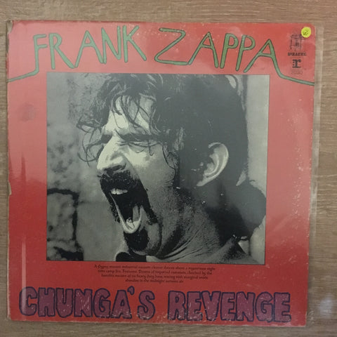 Frank Zappa ‎– Chunga's Revenge - Vinyl LP Record - Opened  - Very-Good- Quality (VG-) - C-Plan Audio