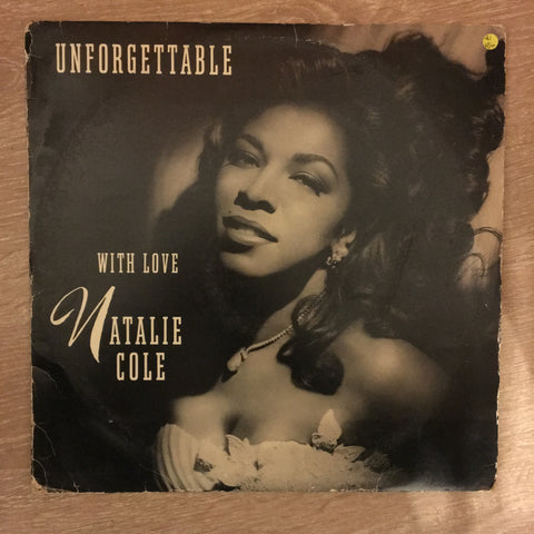 Natalie Cole ‎– Unforgettable With Love -  Double Vinyl  Record - Opened  - Very-Good+ Quality (VG+)