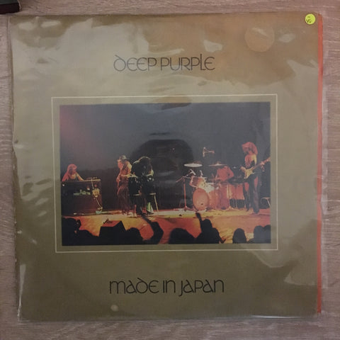 Deep Purple - Made In Japan - Double Vinyl LP Record - Opened  - Very-Good- Quality (VG-)