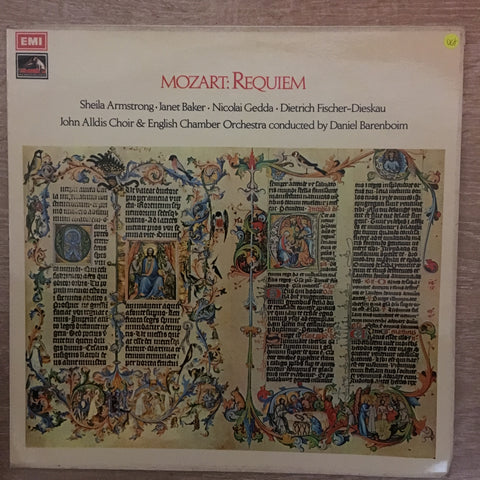 Mozart ‎– Requiem In D Minor, K.626 ‎- Vinyl LP Record - Opened  - Very-Good+ Quality (VG+)