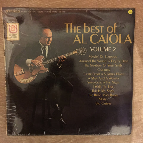 The Best Of Al Caiola Vol 2 -  Vinyl  Record - Opened  - Very-Good+ Quality (VG+)
