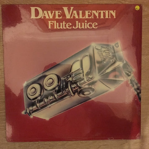 Dave Valentin - Flute Juice -  Vinyl LP - Sealed - C-Plan Audio
