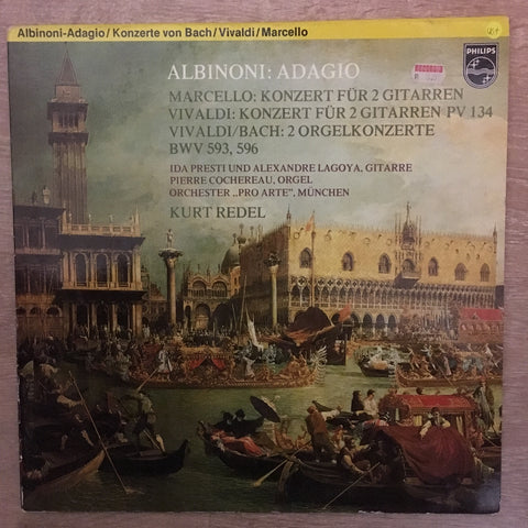 Albinoni Adagio Marcello Vivaldi etc Kurt Redel - Vinyl LP Record - Opened  - Very-Good+ Quality (VG+)