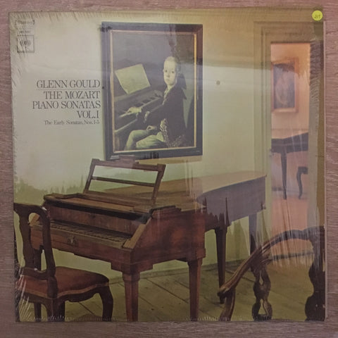 Glenn Gould - Mozart ‎– The Mozart Piano Sonatas Vol. 1 (The Early Sonatas, Nos. 1-5) ‎- Vinyl LP Record - Opened  - Very-Good+ Quality (VG+) - C-Plan Audio