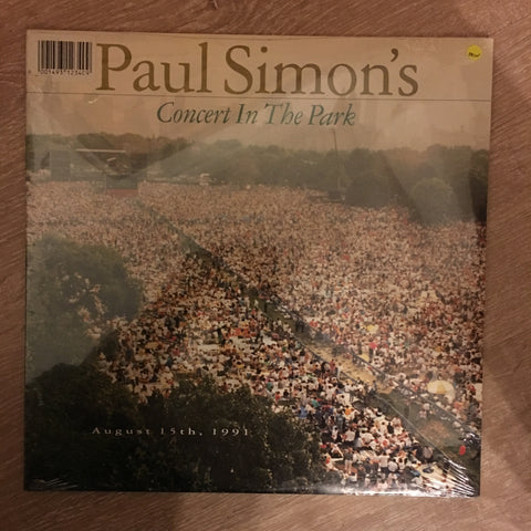Paul Simon  - Concert in the Park -  Vinyl LP - New Sealed - C-Plan Audio