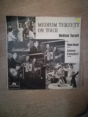 Medium Terzett On Tour with Hans Roodt & Johnny Campbell - Vinyl LP Record - Opened  - Very-Good Quality (VG) - C-Plan Audio