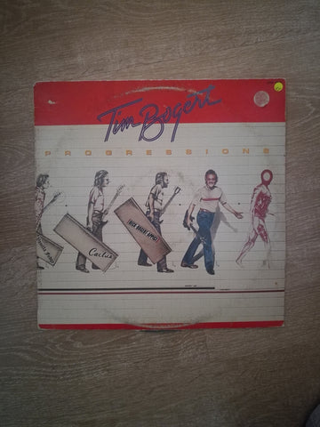 Tim Bogert ‎– Progressions - Vinyl LP Record - Opened  - Very-Good+ Quality (VG+) - C-Plan Audio