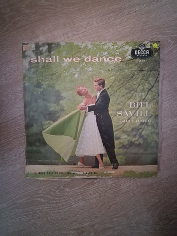 Bill Savill And His Orchestra ‎– Shall We Dance Design For Dancing - Vinyl LP Record - Opened  - Very-Good Quality (VG) - C-Plan Audio