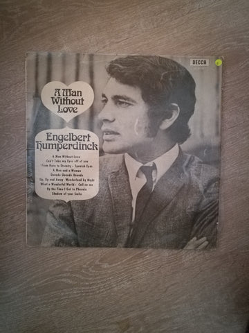Engelbert Humperdinck - A Man Without Love - Vinyl LP Record - Opened  - Good Quality (G)