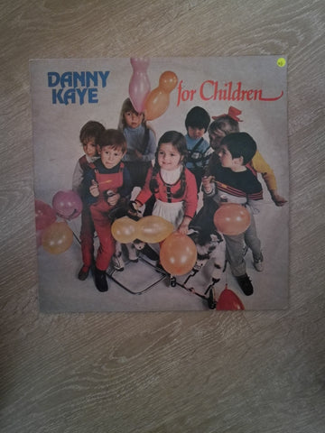 Danny Kaye For Chiildren - Vinyl LP Record - Opened  - Very-Good Quality (VG) - C-Plan Audio