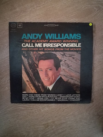 Andy Williams - Call Me Irresponsible - Vinyl LP Record - Opened  - Good+ Quality (G+) - C-Plan Audio