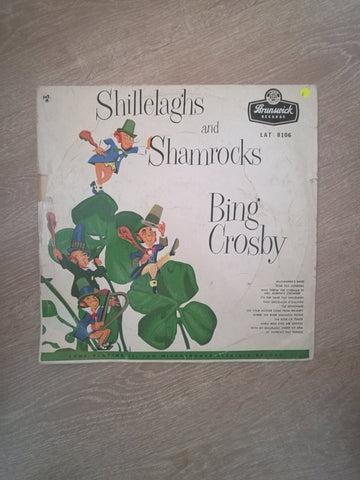Bing Crosby ‎– Shillelaghs And Shamrocks - Vinyl LP Record - Opened  - Good Quality (G) - C-Plan Audio