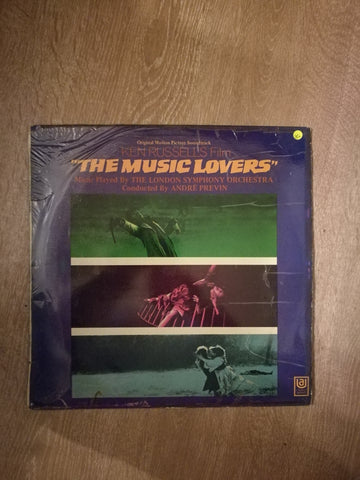 Ken Russell's The Music Lovers Soundtrack - Vinyl LP Record - Opened  - Very-Good+ Quality (VG+) - C-Plan Audio