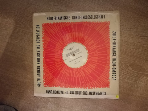SABC Overseas Transcription Service - Vinyl LP Record - Opened  - Very-Good+ Quality (VG+) - C-Plan Audio