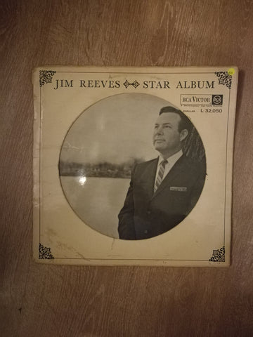 Jim Reeves - Star Album - Vinyl LP Record - Opened  - Good+ Quality (G+) - C-Plan Audio