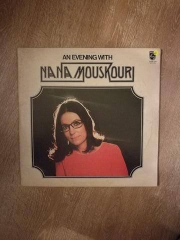 An Evening With Nana Mouskouri - Vinyl LP Record - Opened  - Very-Good- Quality (VG-)
