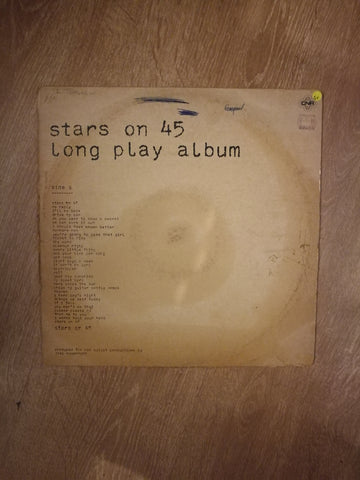 Stars on 45 Long Play Album - Vinyl LP Record - Opened  - Good+ Quality (G+) - C-Plan Audio