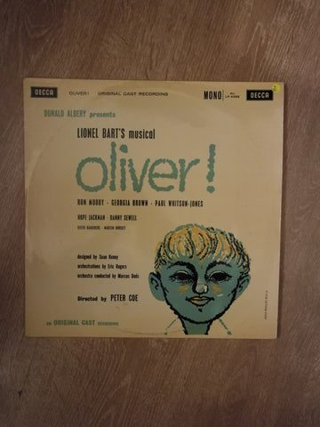 Lionel Bart ‎– Oliver! - Original Cast Recording - Vinyl LP Record - Opened  - Very-Good Quality (VG) - C-Plan Audio