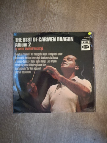 Carmen Dragon, The Capitol Symphony Orchestra  ‎– The Best Of Carmen Dragon Album 2 - Vinyl LP Record - Opened  - Very-Good+ Quality (VG+) - C-Plan Audio