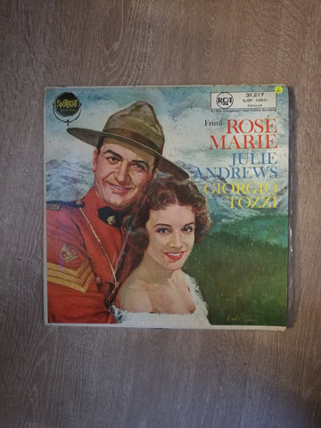 Julie Andrews / Giorgio Tozzi ‎– Rose-Marie- Vinyl LP Record - Opened  - Very-Good Quality (VG) - C-Plan Audio
