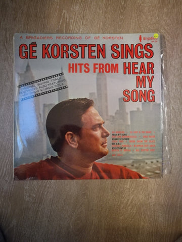 Ge Korsten - Hits From Hear My Song - Vinyl LP Record - Opened  - Very-Good+ Quality (VG+) - C-Plan Audio